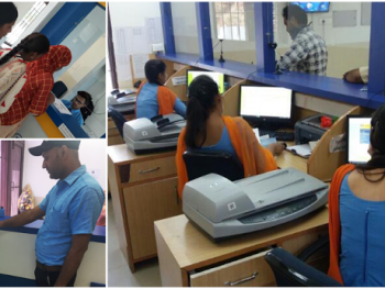 BLS International, one of the world's largest e-governance operators, crosses 500,000 applications a month in Punjab.