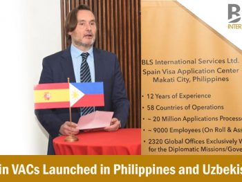 BLS International Inaugurates Spain VACs in Philippines and Uzbekistan