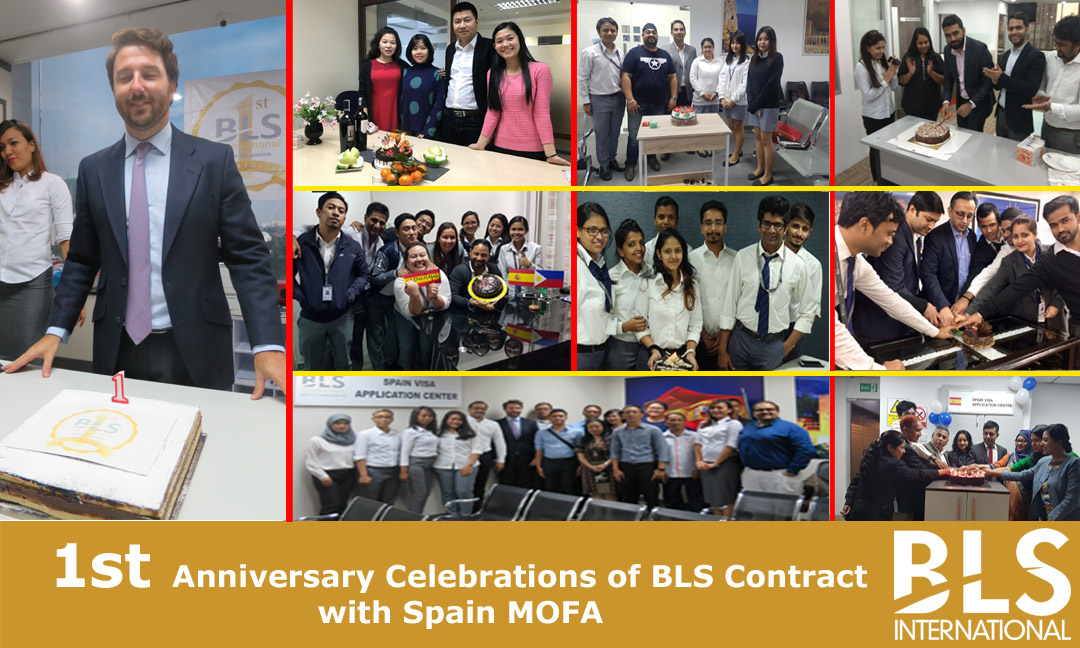 BLS International Celebrates One Successful Year of Contract with Spain MOFA